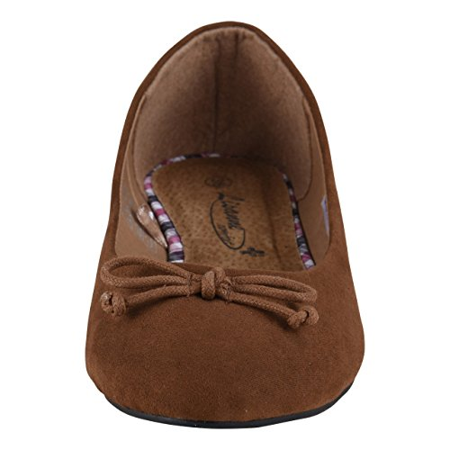 Schuhmarketing Marrone HSM Donna Marrone Ballerine Marrone HnBq8