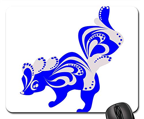 Mouse Pads - Skunk Animal Still from Marble Patterns Decoration]()