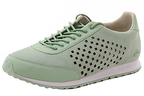 Lacoste Mujeres Helaine Runner 216 1 Fashion Sneaker Light Green