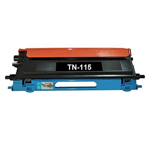 YATUNINK Compatible 1 Pack TN115 TN-115 Color Toner Cyan Set for Brother DCP-9040CN DCP-9045CDN HL-4040CDN HL-4040CN HL-4070CDW MFC-9440CN MFC-9450CDN ()