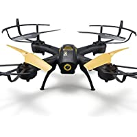 Leegor D61 Photography 6 Axis Quadcopter Wifi FPV HD Camera 2.4Ghz RC Drone 3D Rollover Headless Aircraft With LED Light (Black)