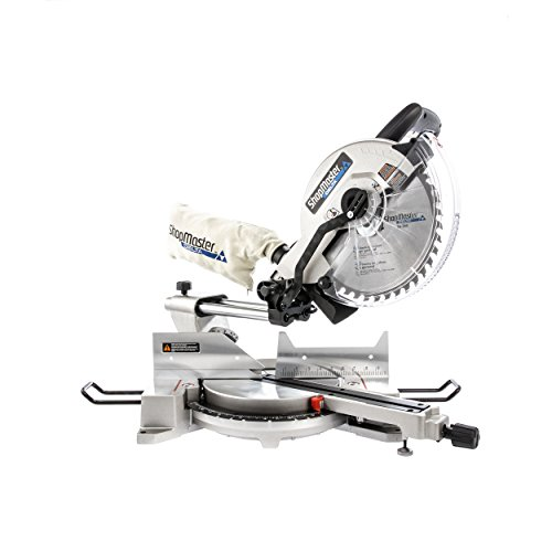 liding Single Bevel Miter Saw With Laser, Silver ()