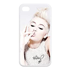 Sexy Miley Cyrus Iphone 4 Case TPU Miley Ray Cyrus Iphone 4S Cover HD Image Snap ON