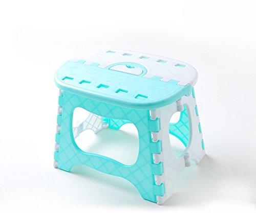 P-H plastica pieghevole sgabello da bagno piccola panca bambino adulto Outdoor portatile sgabello pieghevole