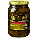 Mt. Olive Petite Snack Crunchers, Sweet Petite 16 Oz (Pack of 2)