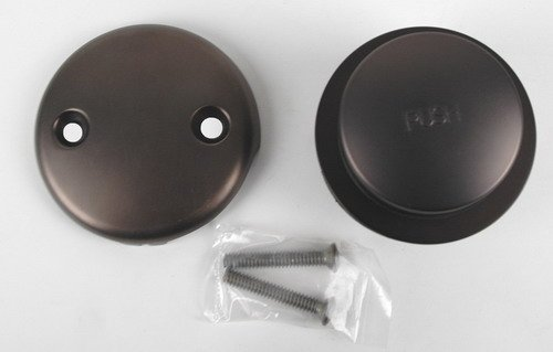 Bathtub Replacement Drain Trim kit - Oil Rubbed Bronze Finish, Tip Toe Type - By Plumb USA 51073BOB