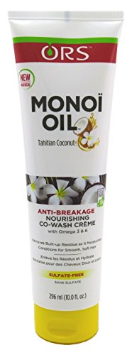 ORS Monoi Oil Co-Wash Creme Nourishing, 10 Ounce