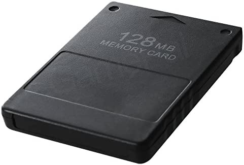 Amazon.com: PS2 Memory Card 128MB, High Speed for Sony ...