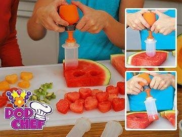 TUZECH Food Designer Just Design Push And Eat - 10 Piece Kit
