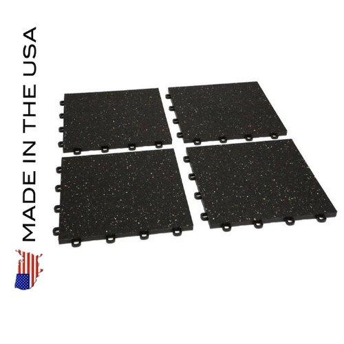 Gym Flooring Interlocking Rubber Floor Tiles