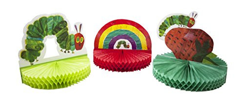 Talking Tables TVHC-CPIECE3PK The Very Hungry Caterpillar Centerpiece (3 pack) Large Multicolor ()