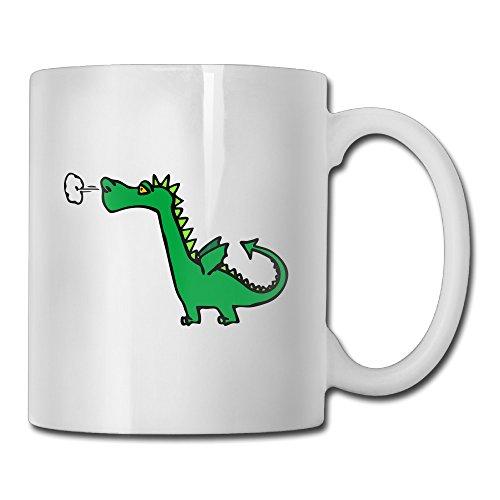 Vicop Dinosaur Funny Ceramic Coffee Mug,11oz