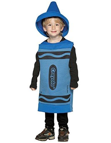 Rasta Imposta Crayola Toddler Costume, Blue,