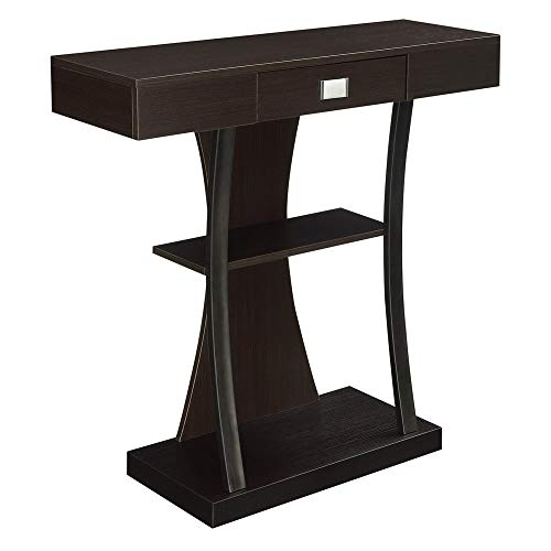 - Convenience Concepts Newport Harri Console Table, Espresso