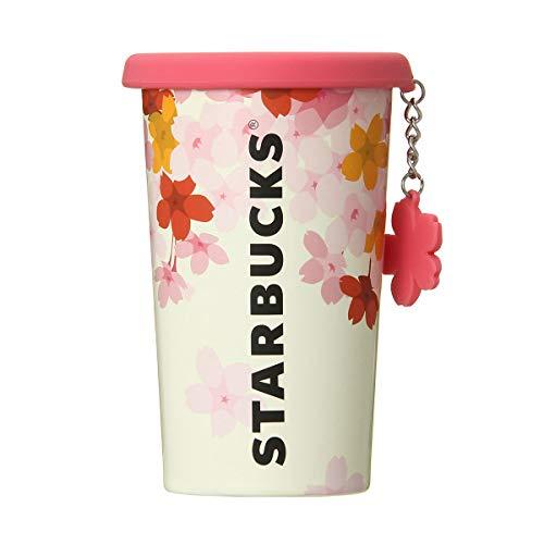 STARBUCKS 스타벅스 스타벅스 스테인레스 컵 텀블러 식기 로고 사쿠라 벚꽃 사쿠라 꽃잎 꽃잎 스프링 기프트 양 SAKURA 2019 실리콘 lid 스테인레스 컵 참(매력) 355ml 클리어 물통도 핑크