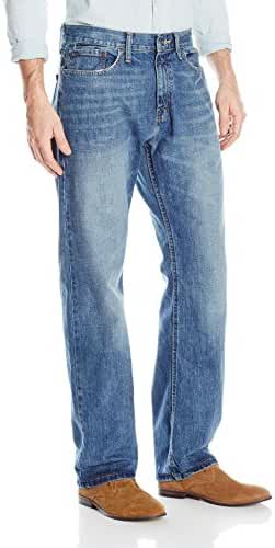 Nautica Men's Straight Relaxed-Fit Denim Jean