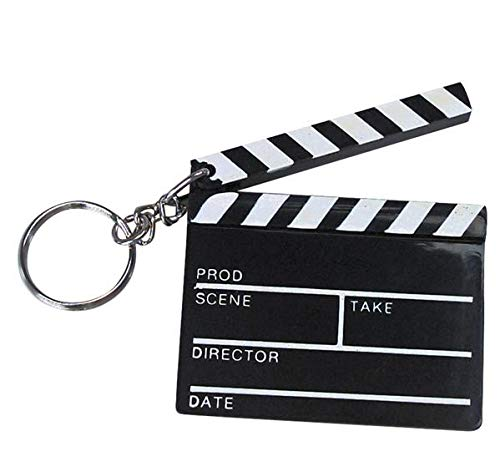 Hollywood Clapboard Key Chains (1 dz)