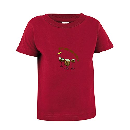 Price comparison product image Future Drummer Drum Set Toddler Baby Kid T-Shirt Tee Garnet 3T