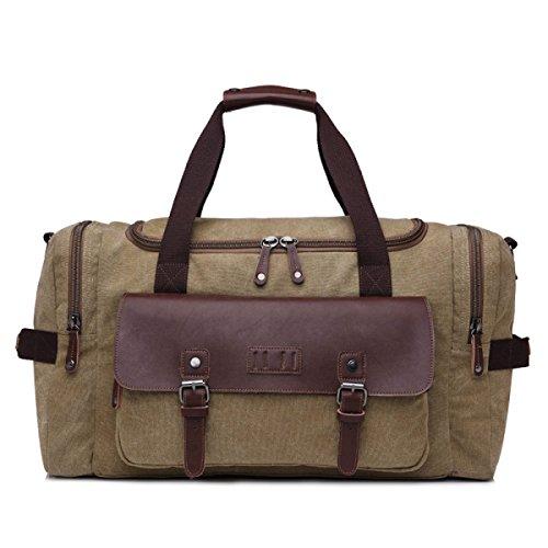 Capacity Package Bag Men Large A4 Diagonal Travel Canvas qnz1ZwFp