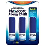 Nasacort Nasal Allergy Spray, 720 Sprays Total, 6 x 120 Spray Dispensers, 0.57 Fluid Ounces Each Nasacort-hp