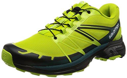 Teal Wings Vert 3 De Homme Salomon Chaussures Punch lime Pro deep black 2 Trail 1OOd7q6