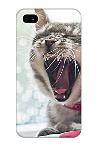 First-class Case Cover Series For Iphone 6 4.7 Dual Protection Cover Animal Cat IuyMWR-6755-XeyIP