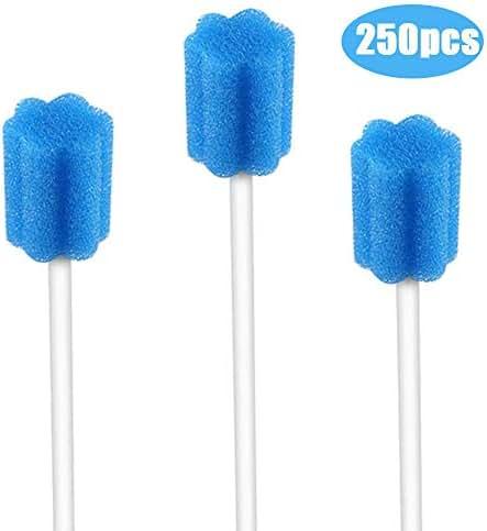 Disposable Oral Swabs - Sterile 250pcs(blue)