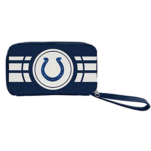 NFL Indianapolis Colts Ripple Zip Wallet