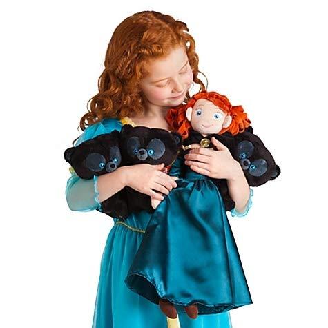 Disney / Pixar BRAVE Movie- Plush Hubert Happy Cub Standing 8 Inch - Exclusive DELUXE