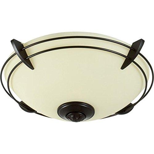 Craftmade LK207CFL-OB 2 Light Bowl Fan Light (Ob Oiled Bronze Accessories)