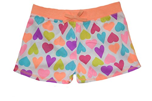 Okie Dokie Girls' Multi Hearts Shorts (5)