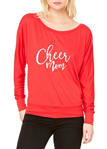 artix-cheer-mom-mothers-day-gift-women-flowy-off-shoulder-t-shirt-x-small-red