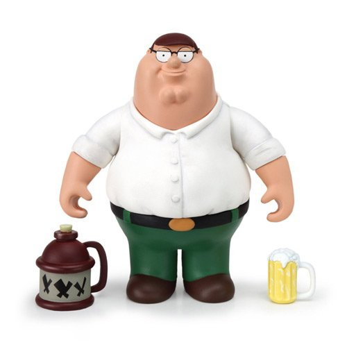 Family Guy - Peter Griffin Interactive Collector Figure]()
