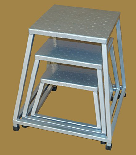 TDS Plyo Box with Steel Deck plate top 3 pc set (12