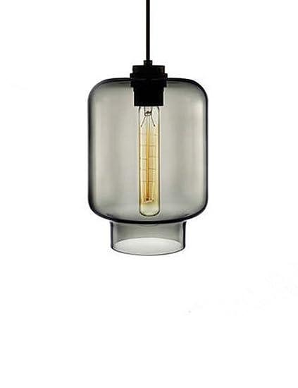 Cozyle - Lámpara de Techo con Forma de tarros de Cristal ...
