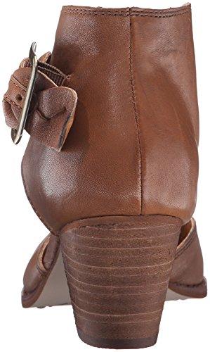 Burlap Tobacco Tumbled Ankle Corso Como Bootie Women's Leather X8UqUz4En
