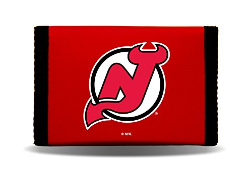 NHL New Jersey Devils Nylon Trifold Wallet