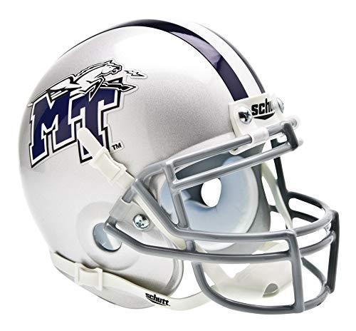 Schutt NCAA Middle Tennessee State Blue Raiders Mini Authentic XP Football Helmet, Classic