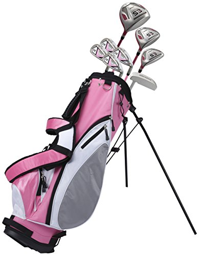Cheap Precise ES Women's Golf Club Set, Left Hand, Pink