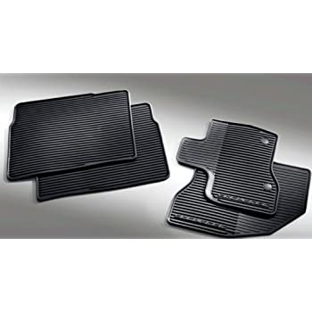 oem factory 11 12 13 black ford explorer weather vinyl floor mats