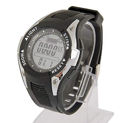 Reloj Sport barómetro pesca Digital con el altímetro/termómetro/tiempo previsión/: Amazon.es: Relojes