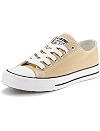 Women's Canvas Shoes Casual Sneakers Low Cut Lace Up...