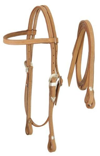 Royal King Browband Headstall with Reins  ライトオイル(light oil) B002HNQ98K