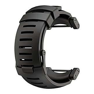 Suunto Core Black Rubber Strap – Correa para relojes, color negro