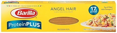 Barilla Protein Plus Angel Hair Pasta 14.5 Ounce - 2 Pack