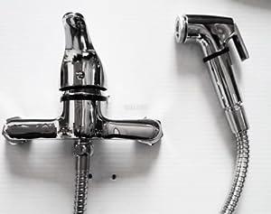 Muslim Shattaf Bidet Toilet Mini Mixer Tap With Shower