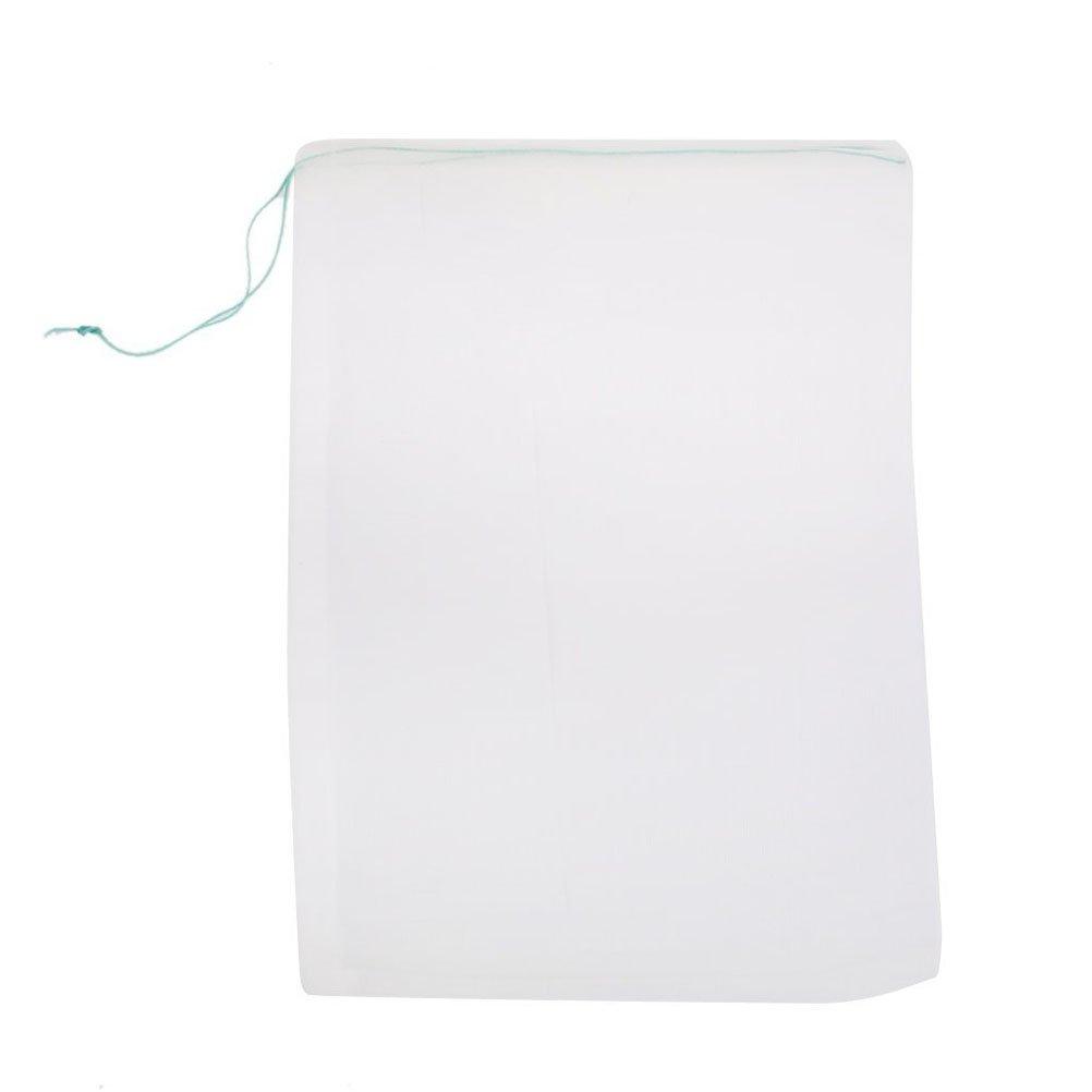 Tinksky 10pcs 25*35cm Mesh Filter Media Bag for Aquarium Garden Pond