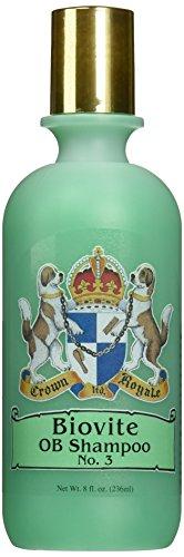 Crown Royale R3333 RTU No.3 Biovite OB Pet Shampoo, 8 oz