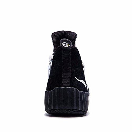 Onemix Mid-top One-body Sneakers Heren Zwart / Wit