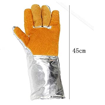 MDD Guantes industriales aislados, cuero, guantes de papel de ...